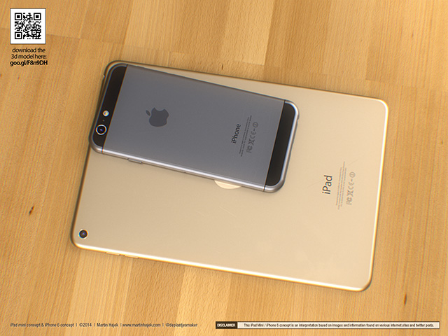 Concept iPad Mini : rendu 3