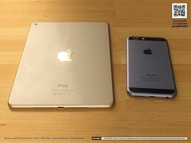 Concept iPad Mini : rendu 5