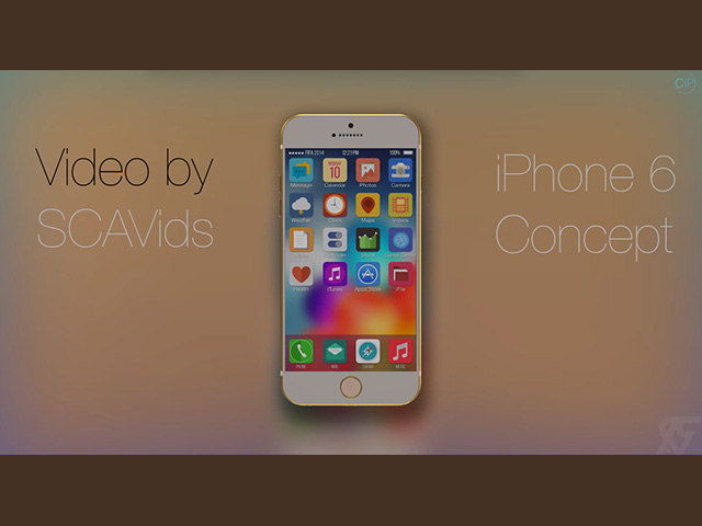 Concept iPhone 6 juillet 14