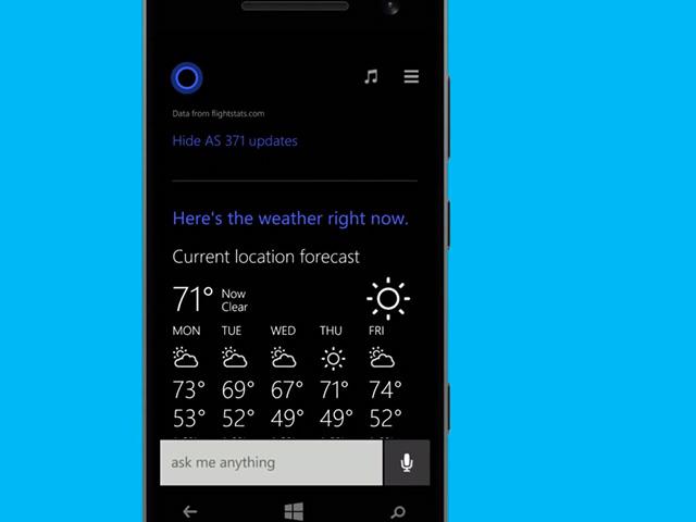 Démo Cortana