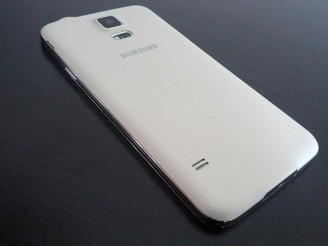 Le dos du Samsung Galaxy S5