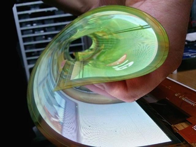 L'écran flexible de LG
