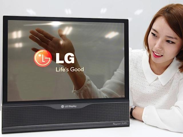 L'écran transparent de LG