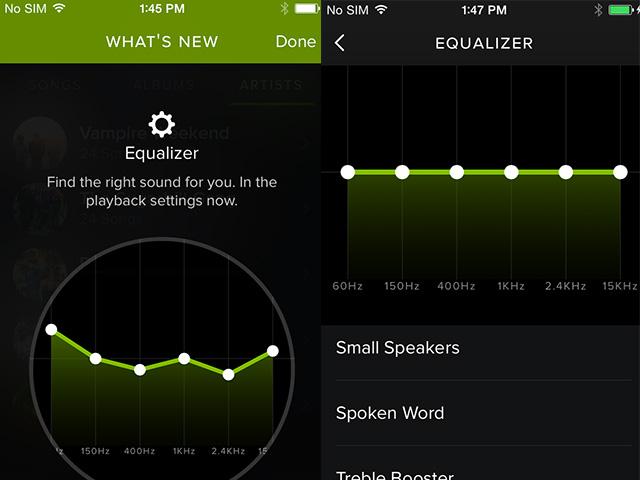 Equalizer Spotify