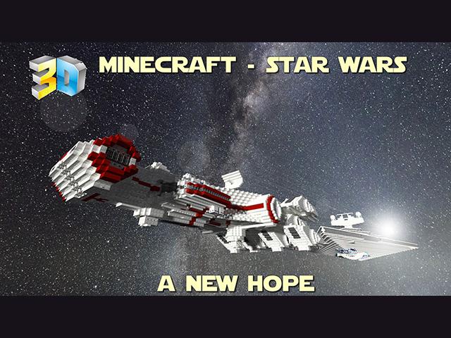 Film Star Wars Minecraft