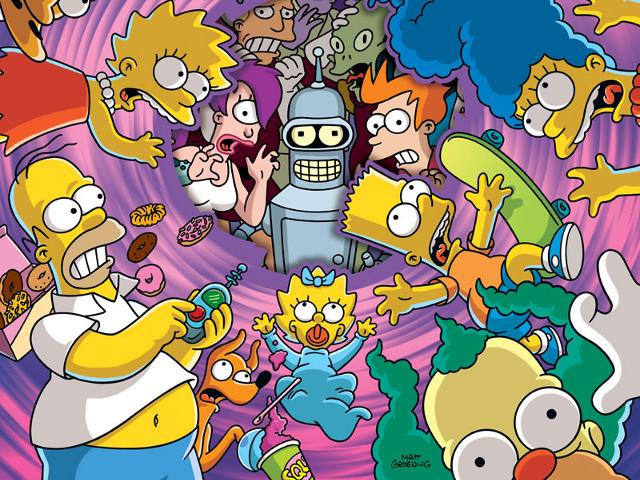 Futurama dans Les Simpson !