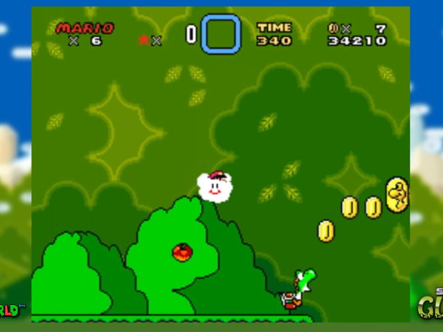Le nouveau glitch de Super Mario World