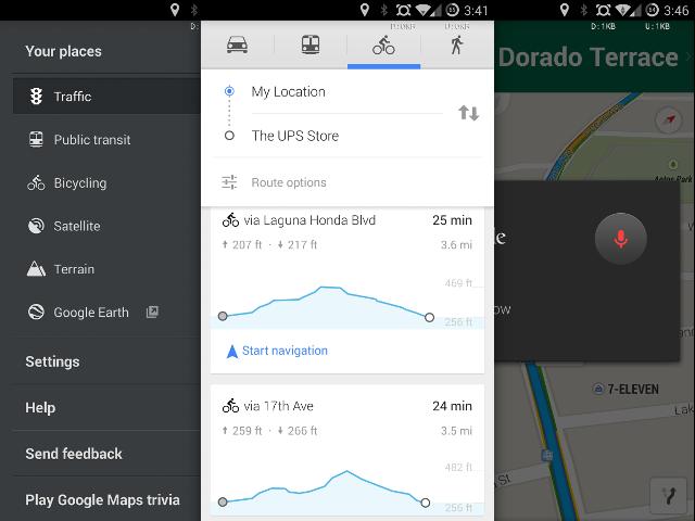 Mise à jour pour Google Maps Android