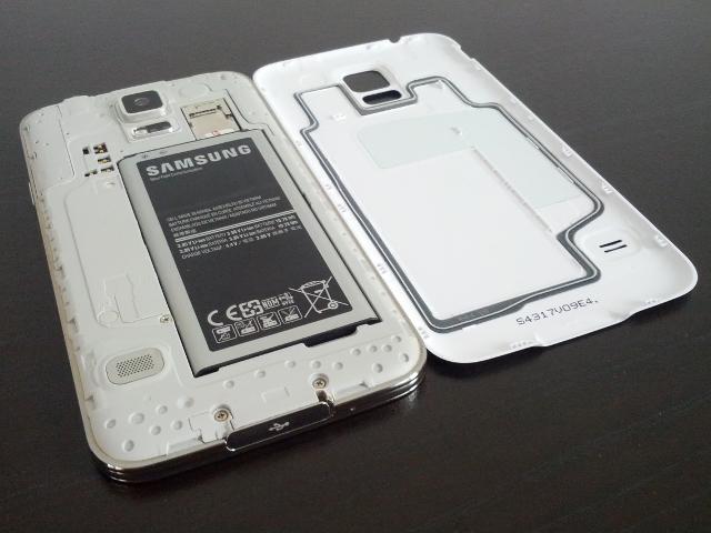 L'intérieur du Samsung Galaxy S5 ne cache rien de particulier