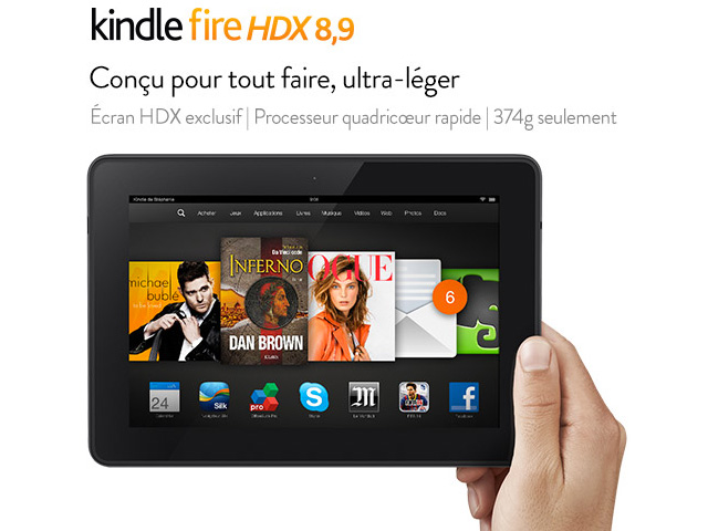Kindle Fire HDX 2014