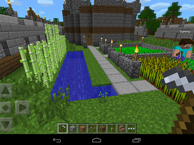 MAJ Minecraft Pocket