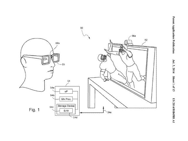 Le brevet de Nintendo pour la vision 3D