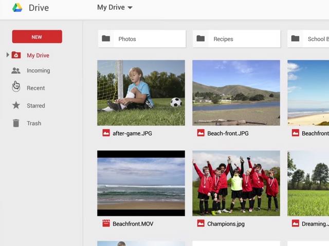 Nouvelle version Google Drive