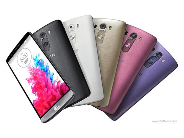 Nouvelle couleurs LG G3