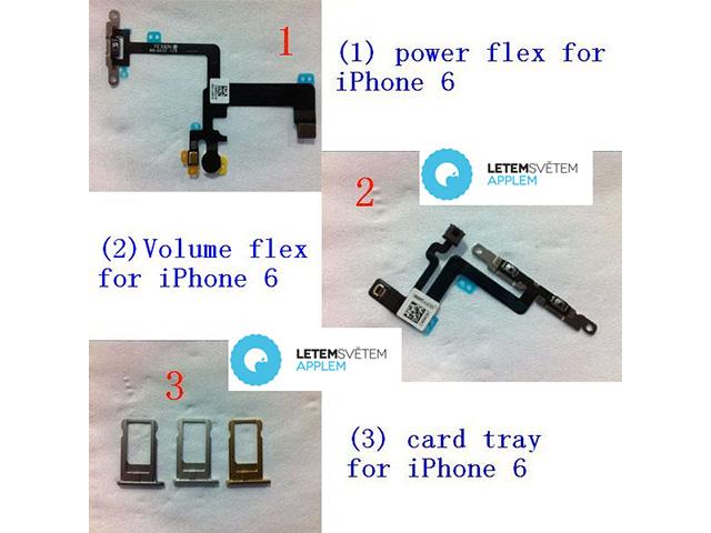 Photos pièces iPhone 6