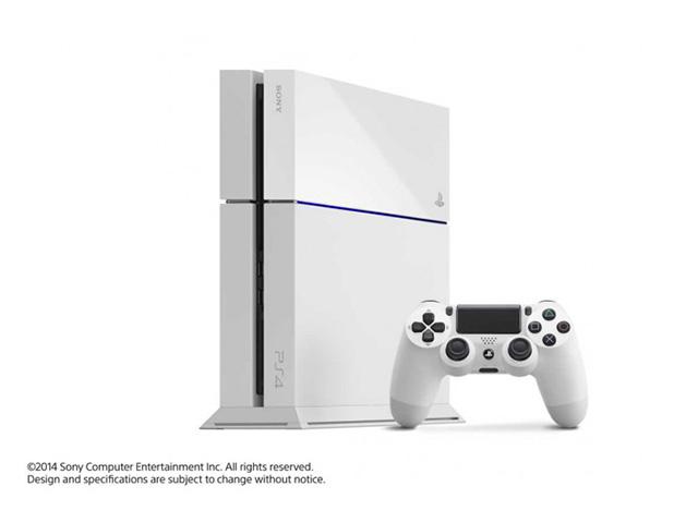 Pré-commander PlayStation 4 Glacier White