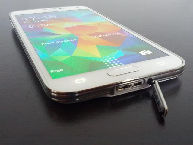 Le port USB 3 du Samsung Galaxy S5