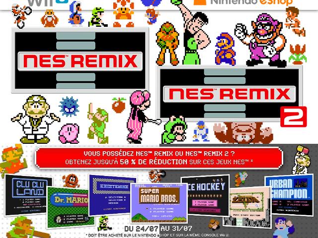 Des promotions sur le Nintendo eShop pour la NES