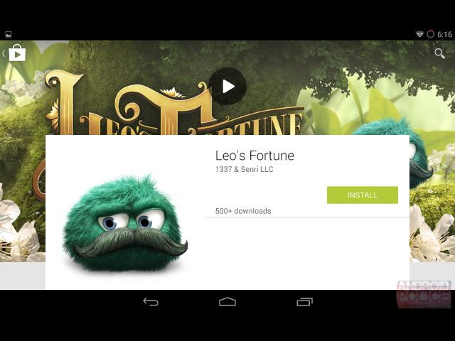 Une refonte graphique pour le Google Play Store