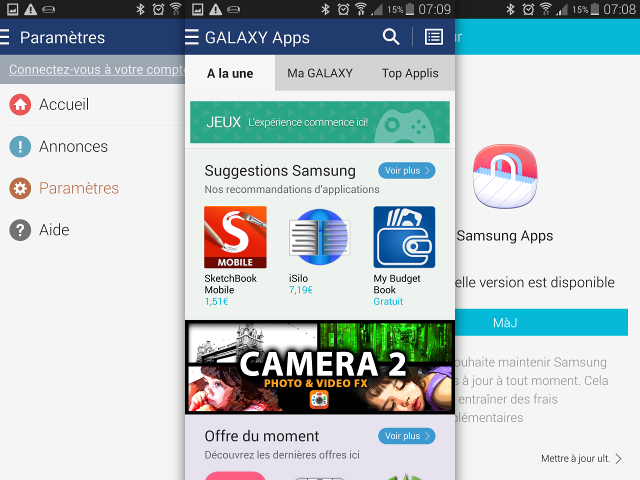 Samsung Apps devient GALAXY Apps