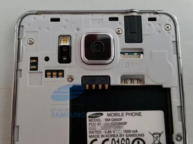 Spécifications Samsung Galaxy Alpha