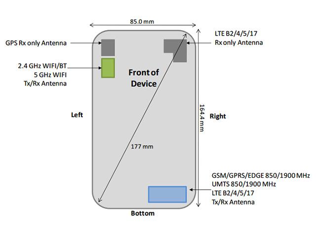 Samsung Galaxy Mega 2 FCC