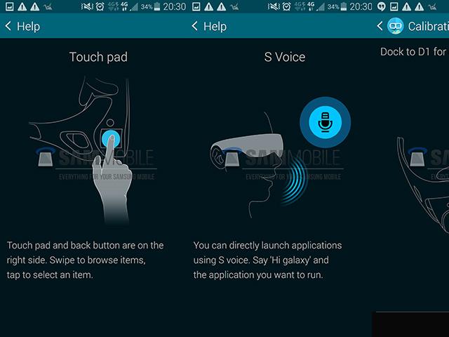 Samsung Gear VR Manager : captures 3