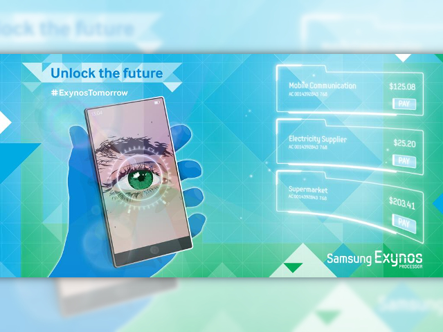 Le scanner rétinien de Samsung
