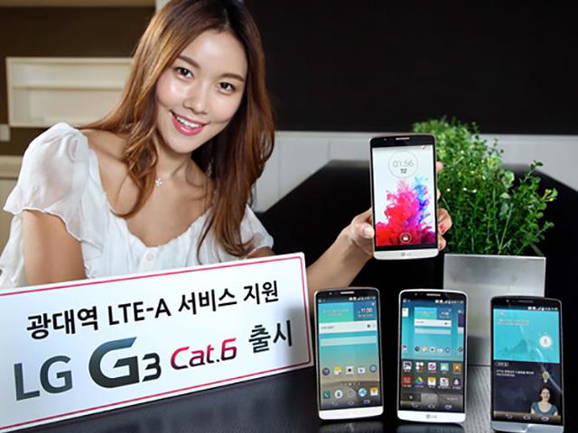Lancement LG G3 Cat.6