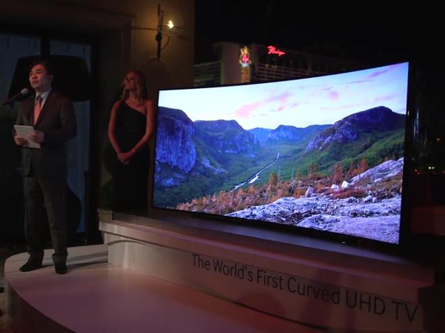 Le téléviseur de Samsung à 120 000$