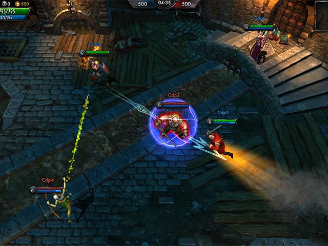 В The Witcher Battle Arena на так называемой арене сражаются шесть персонаж