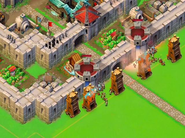 Age of Empire Castle Siege