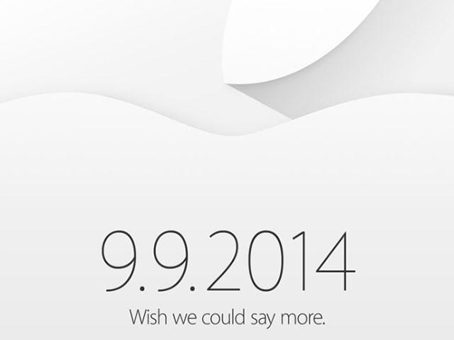 Keynote Apple 9 septembre