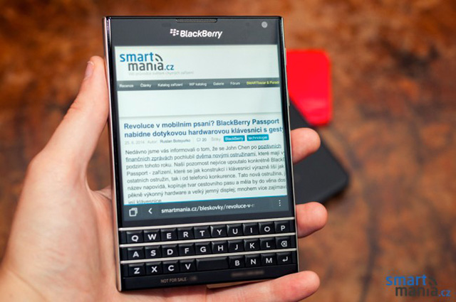 BlackBerry Passport : nouvelles photos 3