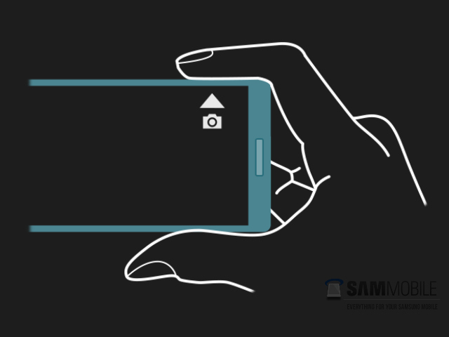 Le bouton de capture du Samsung Galaxy Note 4