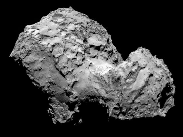 La comète de Rosetta