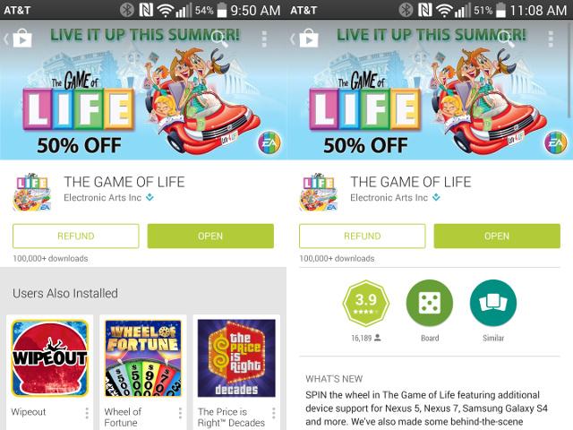 Deux heures pour se faire rembourser sur le Google Play Store