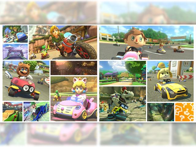 Les nouveaux DLC de Mario Kart 8
