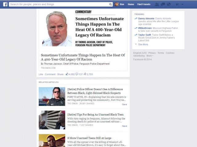 Facebook et son tag [Satire]