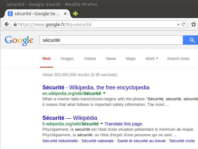 Google et le HTTPS