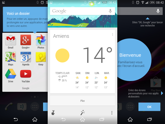 Le lanceur Google Now