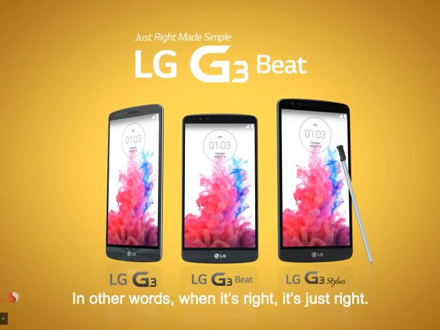 Le LG G3 Stylus