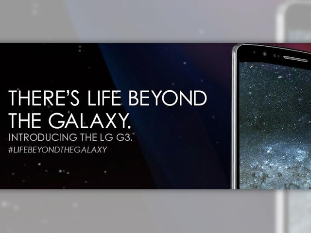 LG s'attaque à Samsung