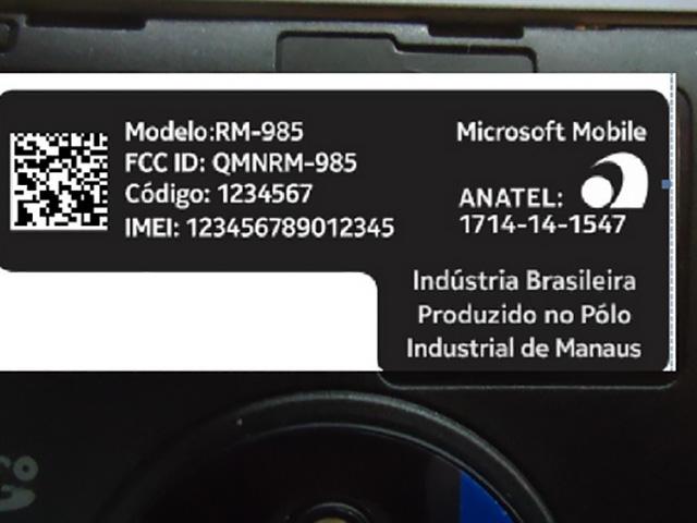 Photo Microsoft Lumia 830