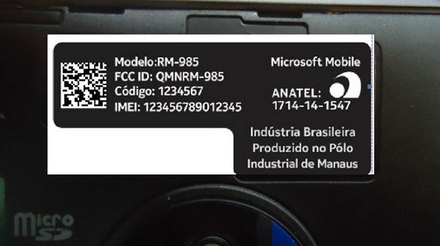 Photo Microsoft Lumia 830 : 1