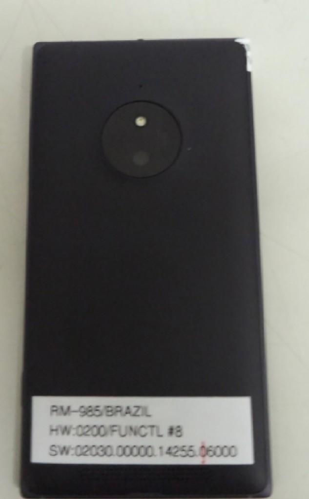 Photo Microsoft Lumia 830 : 3