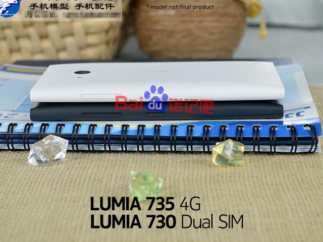 Les Nokia Lumia 730 et 735