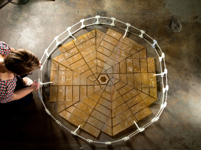 Le panneau solaire inspiré de l'origami
