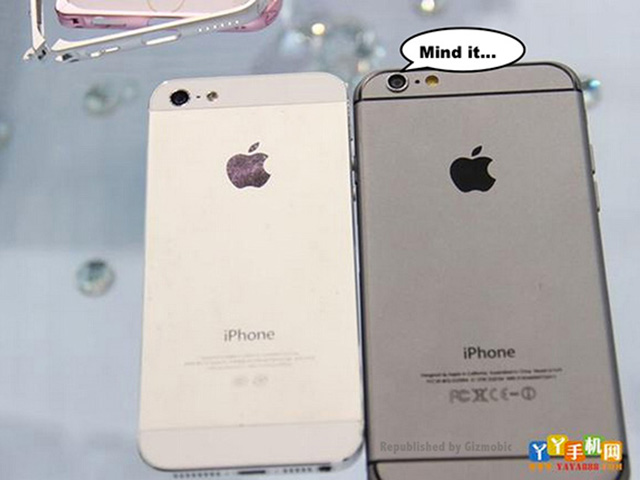 Comparatif iPhone 6 vs iPhone 5s