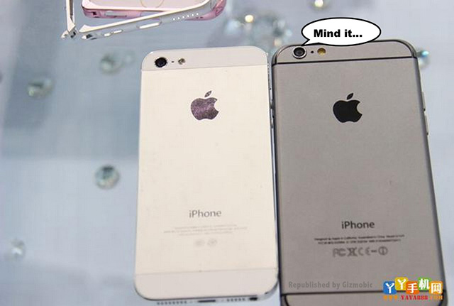 Comparatif iPhone 6 vs iPhone 5s : image 7